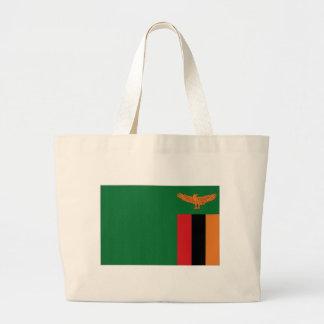 Bandeira nacional da Zâmbia Bolsas Para Compras