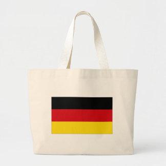 Bandeira nacional de Alemanha Bolsas De Lona
