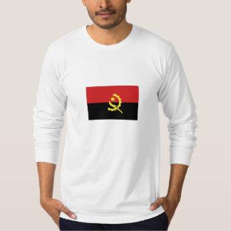 Bandeira nacional de Angola T-shirts