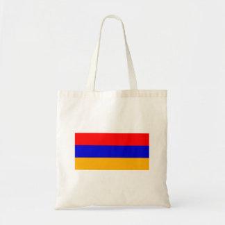 Bandeira nacional de Arménia Bolsa Tote