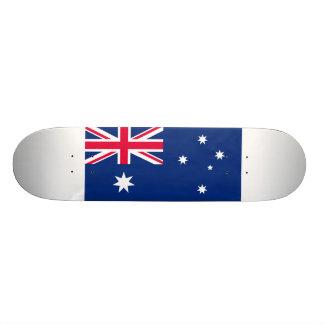 Bandeira nacional de Austrália Shape De Skate 18,1cm