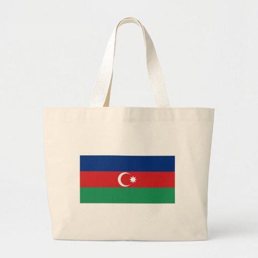 Bandeira nacional de Azerbaijan Bolsas De Lona