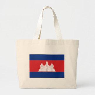 Bandeira nacional de Cambodia Bolsa De Lona