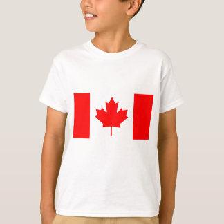 Bandeira nacional de Canadá - Drapeau du Canadá Camiseta