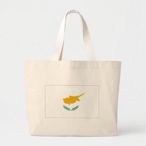 Bandeira nacional de Chipre Bolsa Para Compras