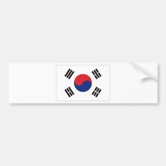 Bandeira nacional de Coreia do Sul Adesivo Para Carro