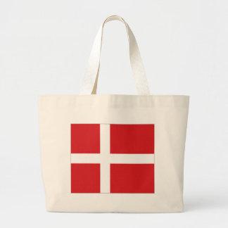 Bandeira nacional de Dinamarca Bolsas De Lona