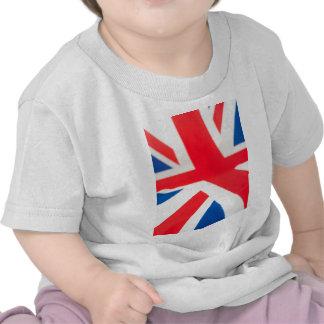 Bandeira nacional de Grâ Bretanha Camisetas