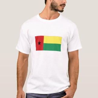 Bandeira nacional de Guiné-Bissau Tshirts