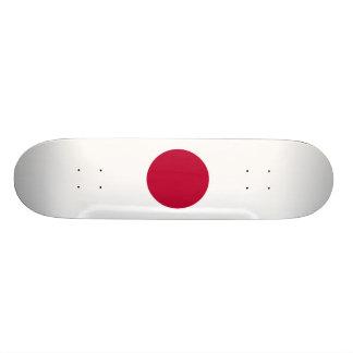 Bandeira nacional de Japão Shape De Skate 18,1cm