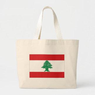 Bandeira nacional de Líbano Bolsa
