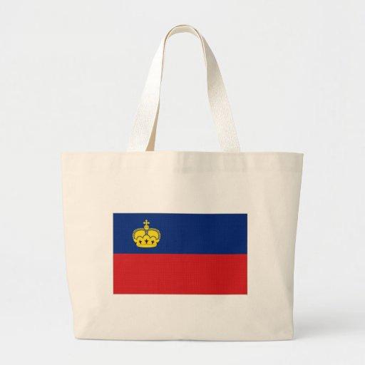 Bandeira nacional de Liechtenstein Bolsas De Lona