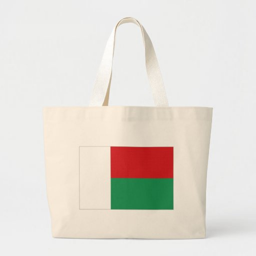 Bandeira nacional de Madagascar Bolsa Para Compras