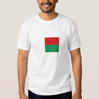 Bandeira nacional de Madagascar Camiseta