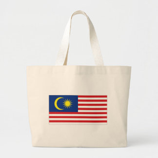 Bandeira nacional de Malaysia Bolsas De Lona