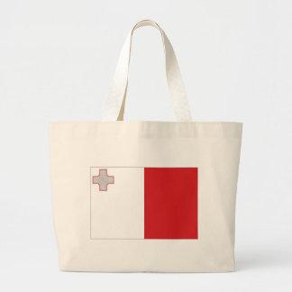 Bandeira nacional de Malta Bolsas Para Compras