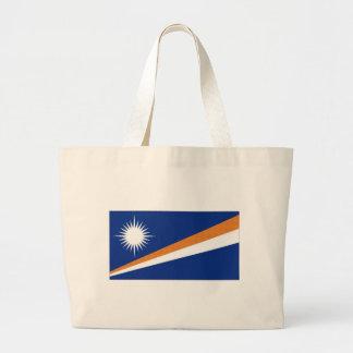 Bandeira nacional de Marshall Islands Sacola Tote Jumbo