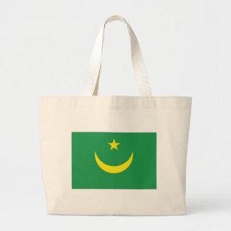 Bandeira nacional de Mauritânia Bolsa Para Compras