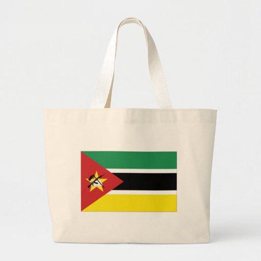 Bandeira nacional de Mozambique Bolsas