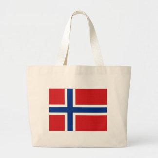Bandeira nacional de Noruega Bolsas
