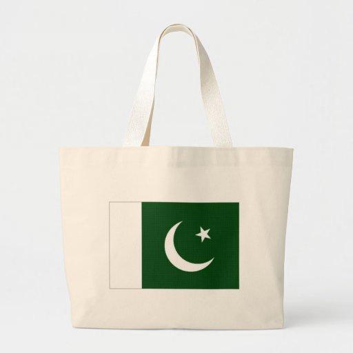 Bandeira nacional de Paquistão Bolsa De Lona
