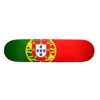 Bandeira nacional de Portugal Shape De Skate 21,6cm