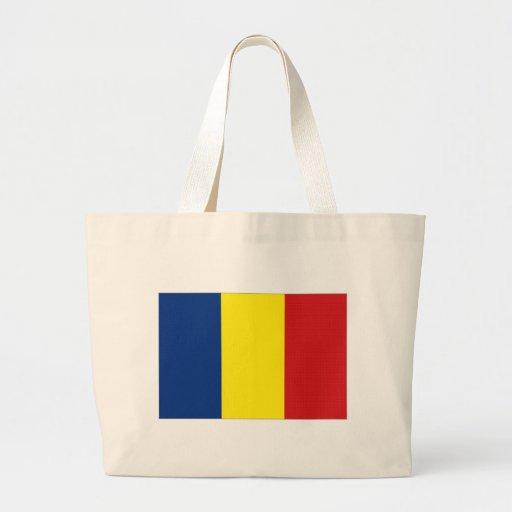 Bandeira nacional de Romania Bolsa Para Compras