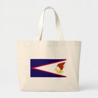 Bandeira nacional de Samoa Americanas Sacola Tote Jumbo