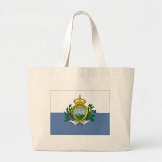 Bandeira nacional de San Marino Bolsa Para Compras