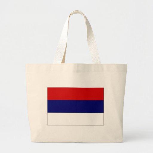 Bandeira nacional de Serbia simplificada Bolsa