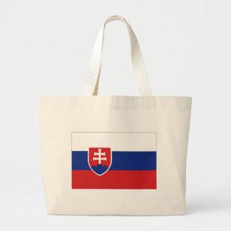 Bandeira nacional de Slovakia Sacola Tote Jumbo