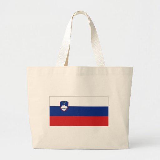 Bandeira nacional de Slovenia Bolsa Para Compras
