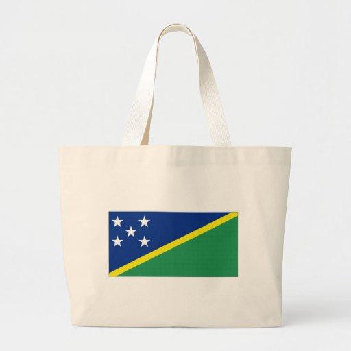 Bandeira nacional de Solomon Island Bolsas De Lona