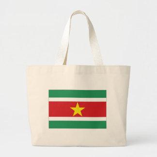 Bandeira nacional de Suriname Bolsas De Lona