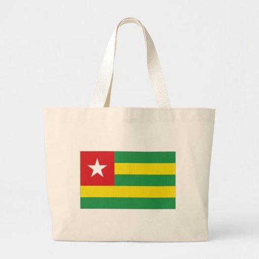 Bandeira nacional de Togo Bolsas Para Compras