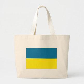 Bandeira nacional de Ucrânia Bolsa De Lona