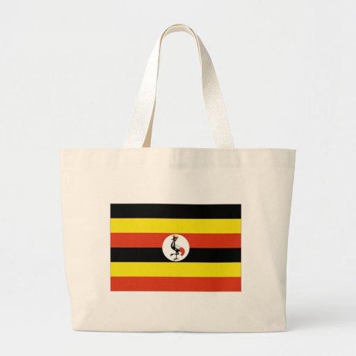 Bandeira nacional de Uganda Bolsas