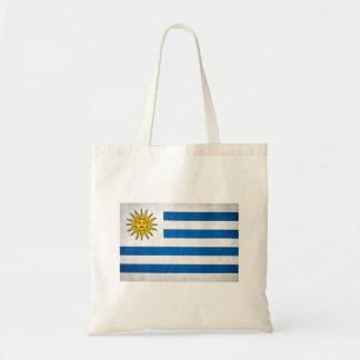 Bandeira nacional de Uruguai Sacola Tote Budget