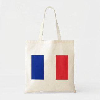 Bandeira nacional do mundo de France Bolsa Tote