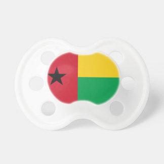 Bandeira nacional do mundo de Guiné-Bissau Chupeta