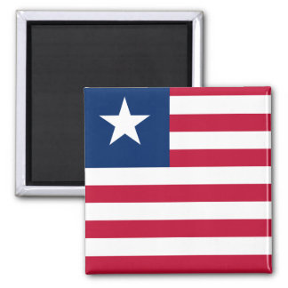 Bandeira nacional do mundo de Liberia Imã