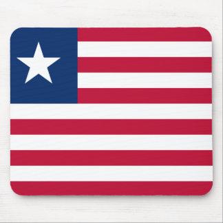 Bandeira nacional do mundo de Liberia Mousepad