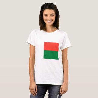 Bandeira nacional do mundo de Madagascar Camiseta
