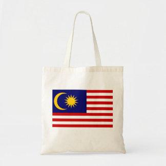 Bandeira nacional do mundo de Malaysia Bolsa Tote