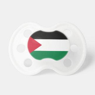 Bandeira nacional do mundo de Palestina Chupeta