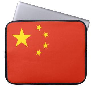 Bandeira nacional do mundo de República Popular da Sleeve Para Laptop