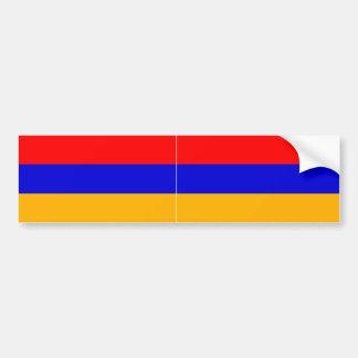 Bandeira nacional DOIS Arménia Adesivos