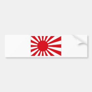 Bandeira naval de Japão Adesivo Para Carro