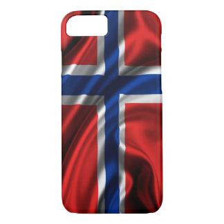 Bandeira norueguesa capa iPhone 7