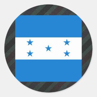 Bandeira oficial de Honduras em listras Adesivo